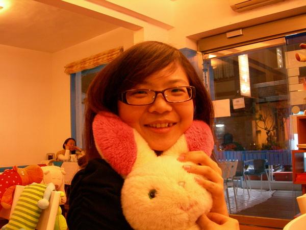 這隻兔子很忙