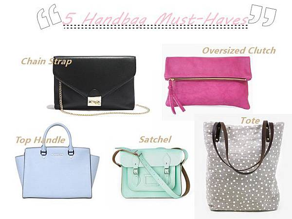 Summer must have bags