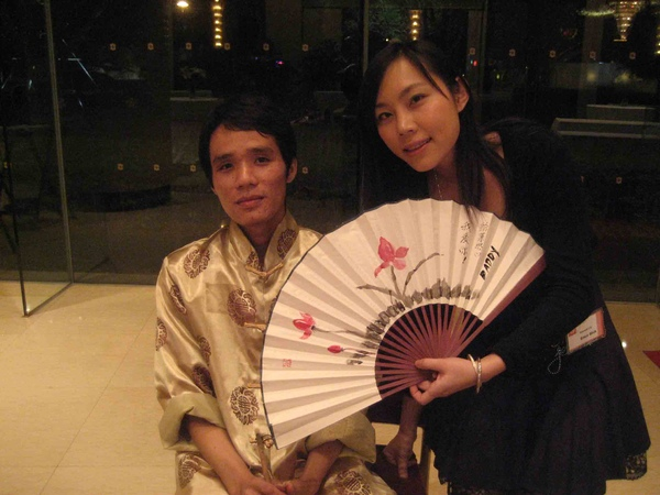Enca & the Fan Painter 2008.jpg