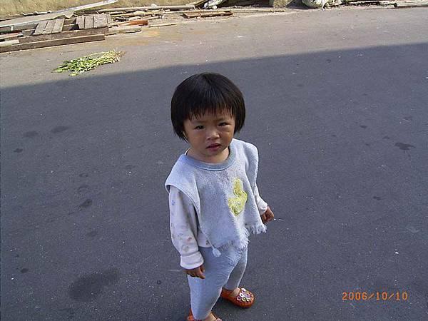 妃妃快1歲7個月了~在雲林阿嬤家住