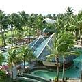 westin飯店的游泳池,真的很漂亮喔~設施也很讚