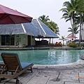 westin飯店泳池的造景真的很美