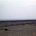 梧棲渔港外圍的海邊
