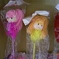 可愛娃娃造型羽毛筆、廣告筆