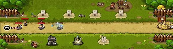 好玩的免費網頁遊戲《塔防三國誌》5戰鬥中