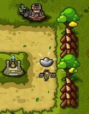 好玩的免費網頁遊戲《塔防三國誌》11路人 銀子