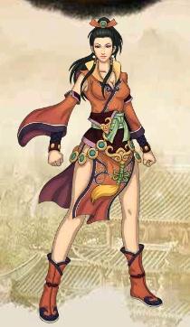 好玩的免費網頁遊戲《一代宗師》2選擇形象2 俠客女