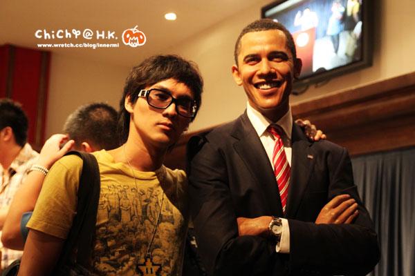 巧遇親切的歐巴馬!