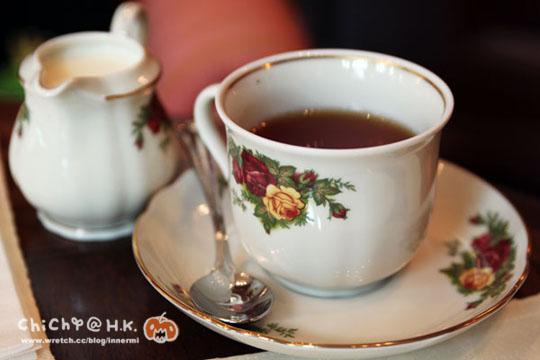 英式紅茶。