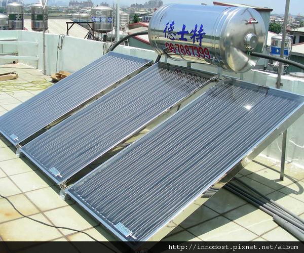 安裝太陽能熱水器5