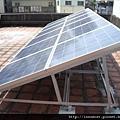 屋頂設置太陽光電