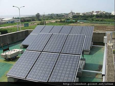 屋頂設置太陽光電2