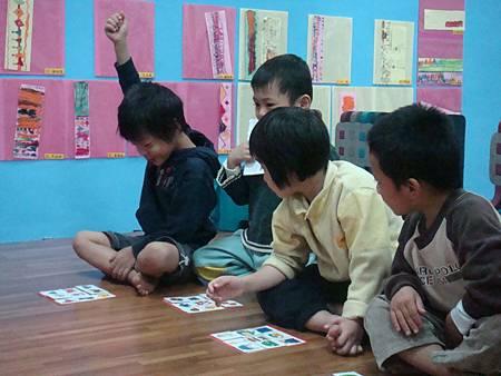 活潑有趣的療育課程,總能牢牢抓住好動孩子的注意力