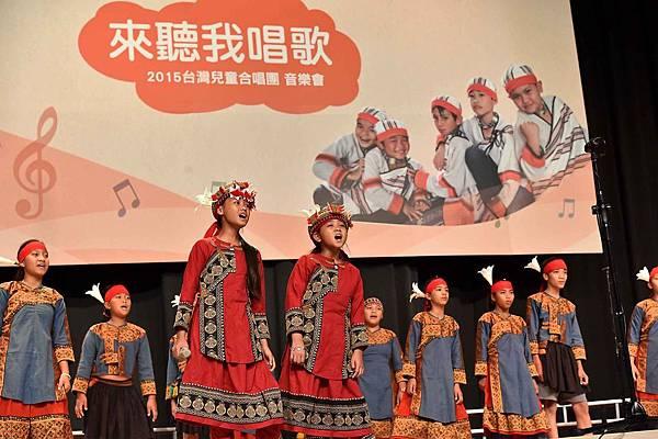 台灣兒童合唱團用歌聲唱出對資助人及捐款人的感謝(台灣世界展望會提供) (2)