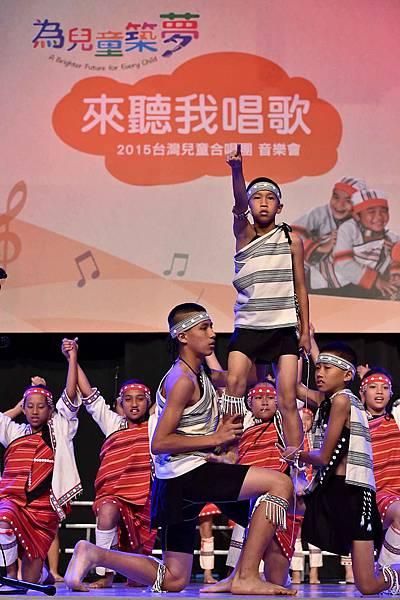 台灣兒童合唱團用歌聲唱出對資助人及捐款人的感謝(台灣世界展望會提供) (5)