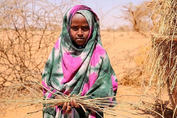 東非國家面臨缺糧困境的人數以衣索比亞最劇,約有560萬人處於糧食危機,其次則依序為南蘇丹490萬人、索馬利亞290萬人、肯亞270萬人(台灣世界....jpg