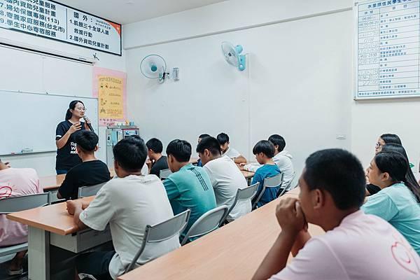 台灣世界展望會為偏鄉學子減緩交通往返與生活費等負擔,於是成立水里學生中心,讓原鄉部落的孩童可以安心上學。(台灣世界展望會提供)