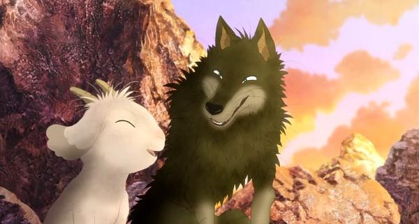 翡翠森林狼與羊 秘密的朋友