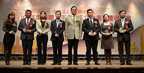 台北國際旅展受獎單位