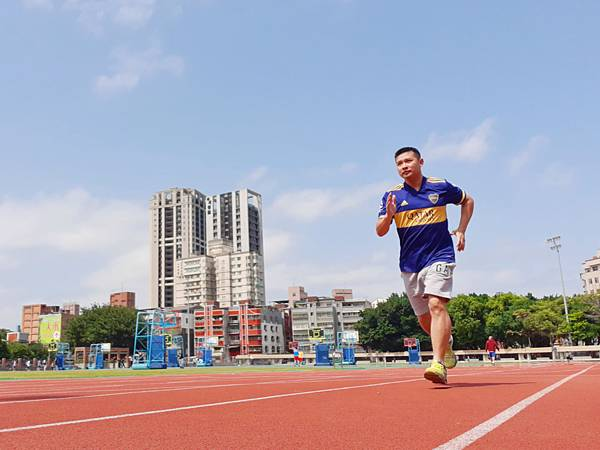 跑步運動吃威立鋒精胺酸