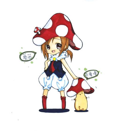 20080905自創生物 蘑菇+菇嚕嚕(COPIC).jpg