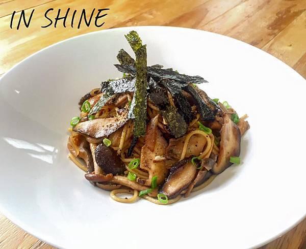 台中隱巷早午餐 日式蕈菇義大利麵
