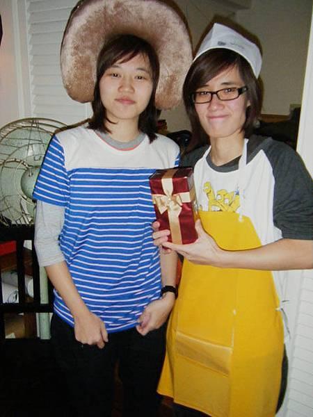 第五棒當家主廚抽到招牌少女的禮物!