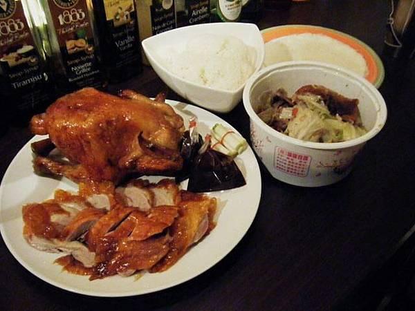 2號老大犒賞員工的烤雞大餐!