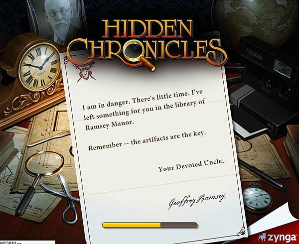 Hidden Chronicles首頁