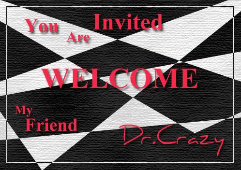 瘋博士的邀請卡