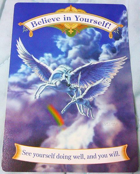 獨角獸卡-Believe in yourself