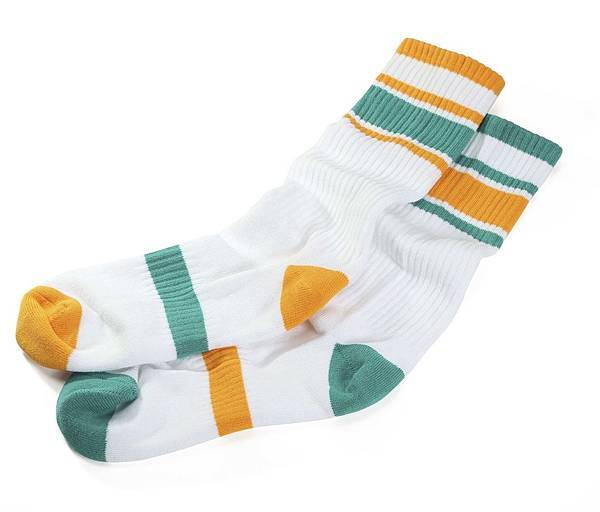 TwinSocks Sporty 綠黃