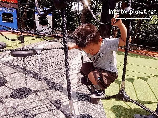 林口樂活公園高塔爬網2.jpg