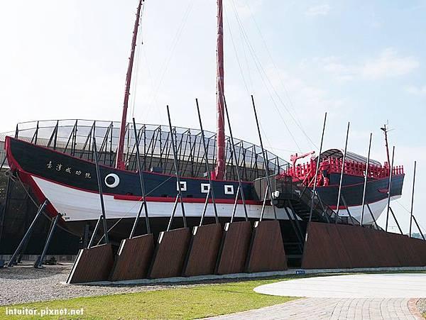 台南]復刻台灣船,歷史航向未來,1661台灣船園區/緊鄰林默娘公園+港濱歷史公園