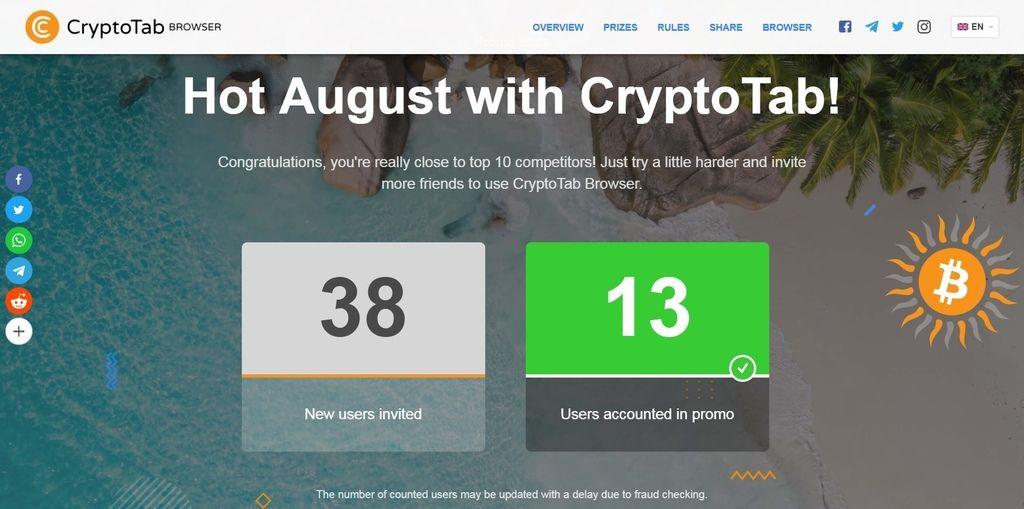 免費網賺]全球第一個挖礦瀏覽器CryptoTab Browser 2019 @ crypto