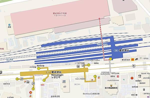 map鷺梁津