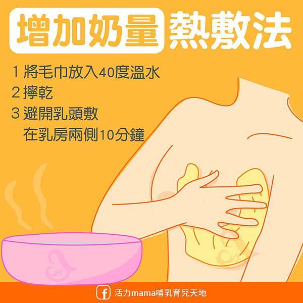 乳腺暢通乳房熱敷