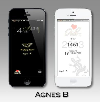 iphone5 agnes b 主題
