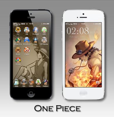 iphone5 海賊王主題