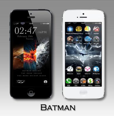 iphone5 蝙蝠俠主題batman