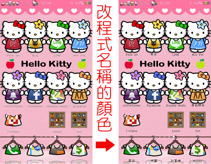 Hello Kitty 換裝主題