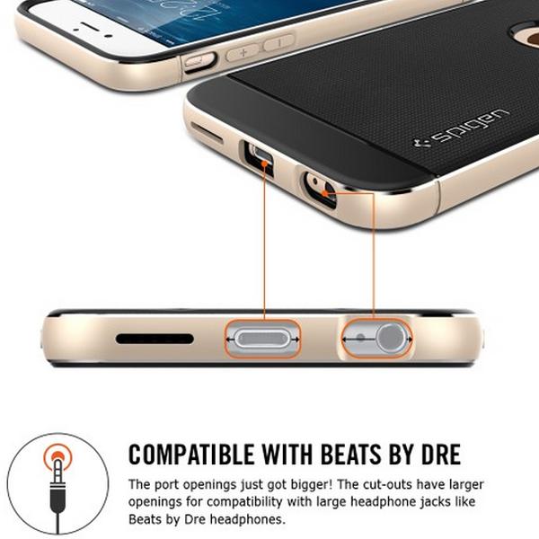 "SGP iPhone 6 (4.7"") Neo Hybrid Metal 兩件式金屬邊框保護殼"