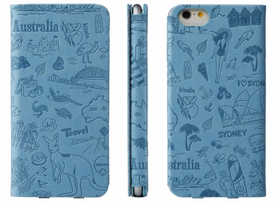 Ozaki iPhone 6 O!Coat Travel 旅行系列掀蓋保護套5