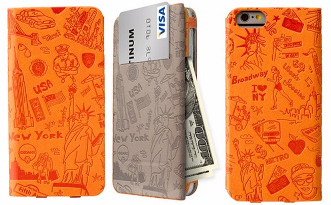 Ozaki iPhone 6 O!Coat Travel 旅行系列掀蓋保護套2