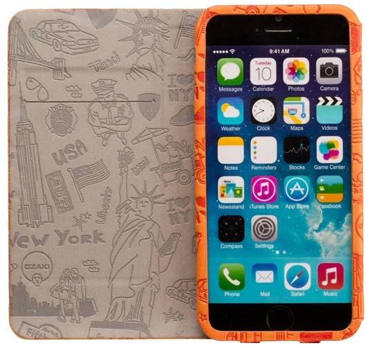 Ozaki iPhone 6 O!Coat Travel 旅行系列掀蓋保護套8