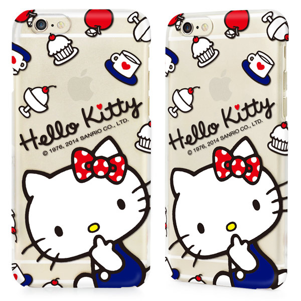 GARMMA Hello Kitty iPhone 6 保護硬殼-甜點款2