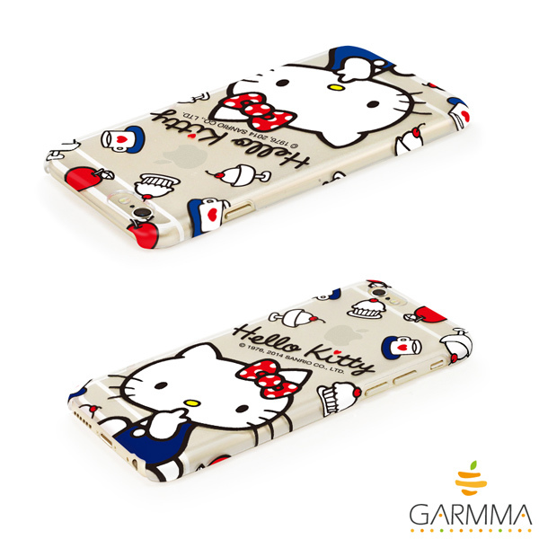 GARMMA Hello Kitty iPhone 6 保護硬殼-甜點款4