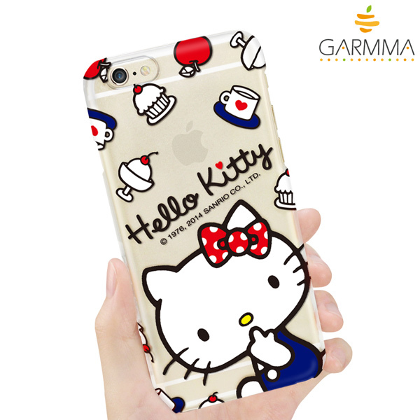 GARMMA Hello Kitty iPhone 6 保護硬殼-甜點款3