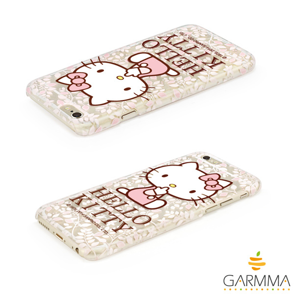 GARMMA Hello Kitty iPhone 6 保護硬殼-花漾款4