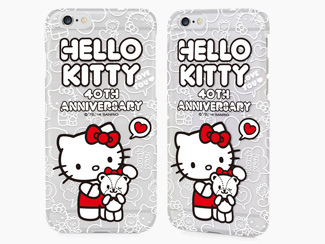 GARMMA 正版 Hello Kitty iPhone 6 plus 透明硬殼40年紀念B款